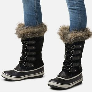 SOREL Joan Of Arctic Snow Boots Lace Up Waterproof